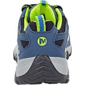 Merrell Moab Fst Low WP Chaussures Enfant, navy/blue